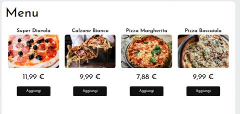 Menu Online per asporto, take away e consegne per Ristoranti. No Commissioni.
